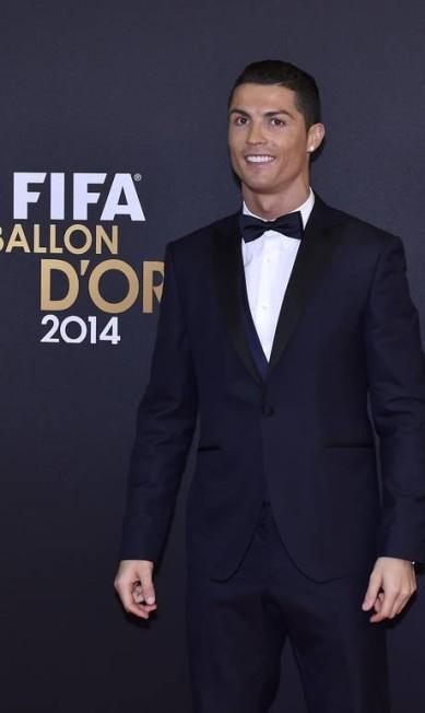 13º lugar: o jogador de futebol Cristiano Ronaldo MICHAEL BUHOLZER / AFP