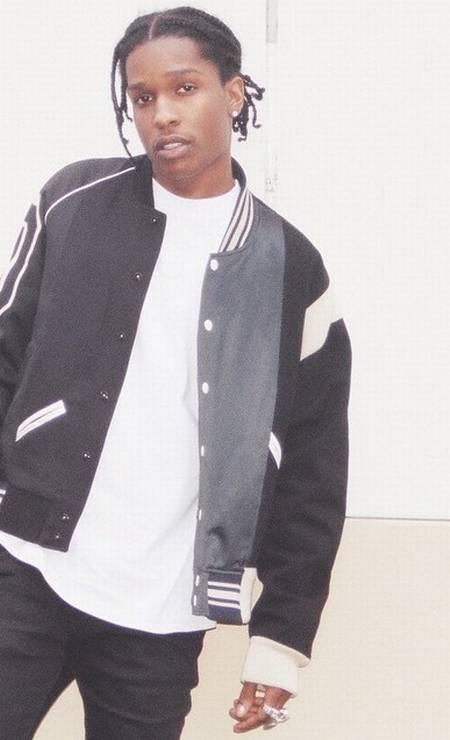 Oitavo lugar: o rapper A$AP Rocky Reprodução/Instagram