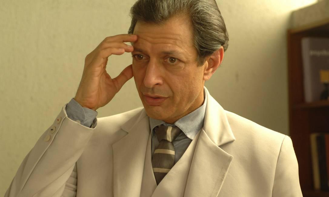 Quarto lugar: o ator Jeff Goldblum Divulgação
