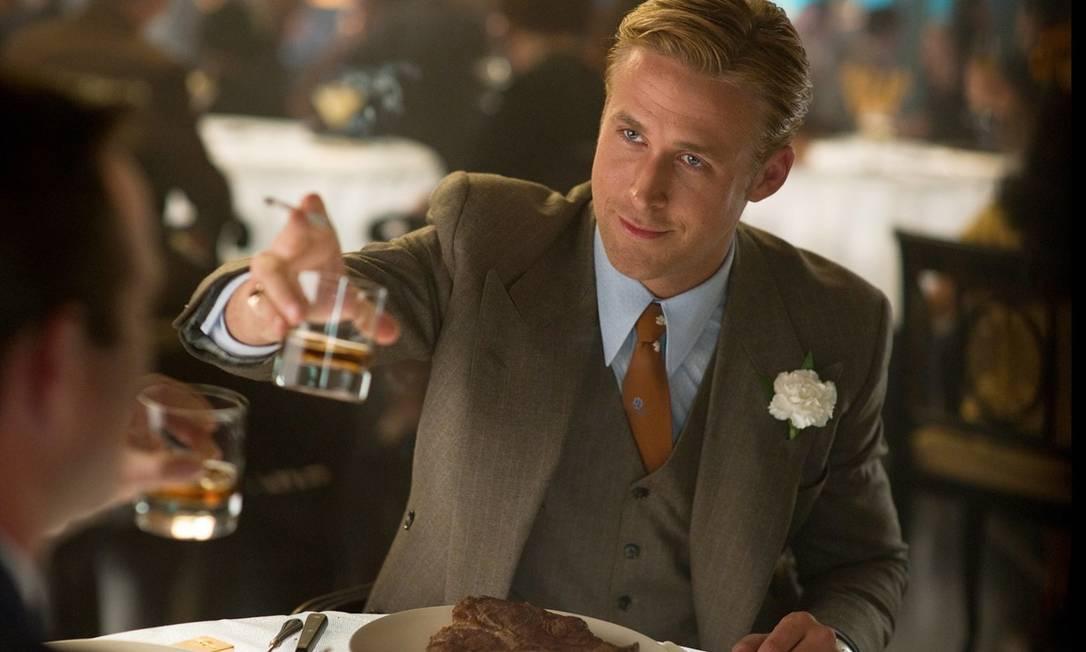 O ator Ryan Gosling ficou com o segundo lugar da lista Divulgação