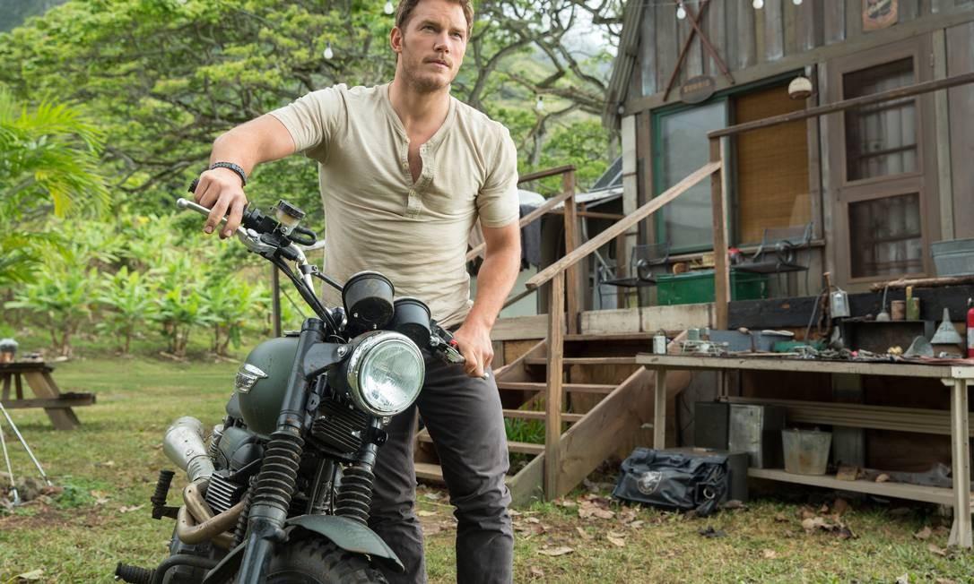 """Chris Pratt está em alta. Eleito o galã da vez, o ator de """"Jurassic world: o mundo dos dinossauros"""" (foto) não vê problemas em ser tratado como homem objeto Foto: Chuck Zlotnick / AP"""