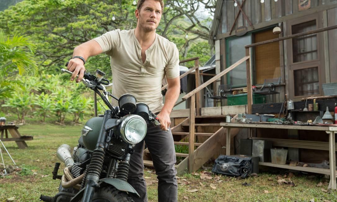 """Chris Pratt está em alta. Eleito o galã da vez, o ator de """"Jurassic world: o mundo dos dinossauros"""" (foto) não vê problemas em ser tratado como homem objeto Chuck Zlotnick / AP"""
