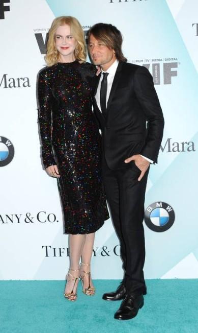 Nicole Kidman ao lado do marido, o músico Keith Urban Richard Shotwell / Richard Shotwell/Invision/AP