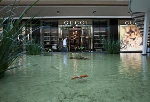 Gucci viu suas vendas caírem 1,1% em 2014 Foto: Guillermo Giansanti/ O Globo