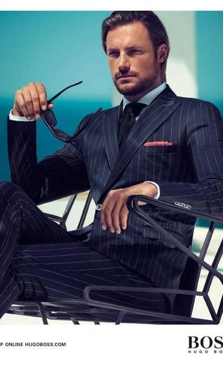 O canadense Gabriel Aubry é conhecido por suas campanhas para as grifes Hugo Boss, Versace, Calvin Klein e Louis Vuitton Foto: Divulgação