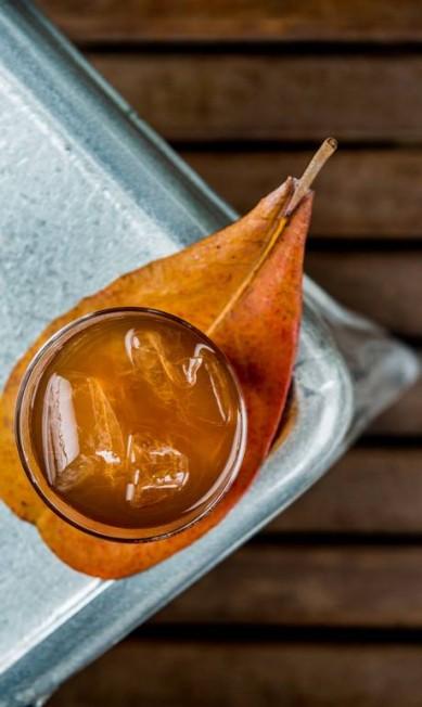 Bazzar: O drinque Chico é feito com uísque, gengibre e limão (R$ 35) Tomas Rangel / Divulgação