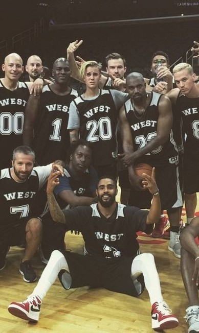 Segundo Bieber, ele foi o MVP do jogo com 22 pontos Reprodução/ Instagram