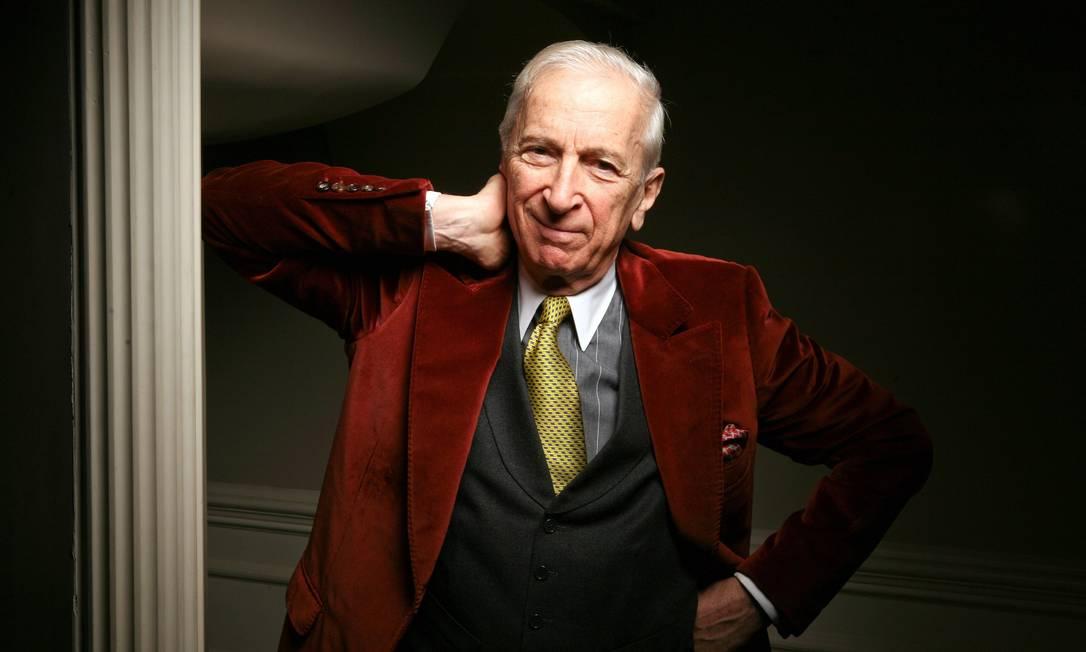 Um dos jornalistas mais prestigiados do mundo, o americano Gay Talese também é conhecido por seu estilo clássico Fred R. Conrad / The New York Times