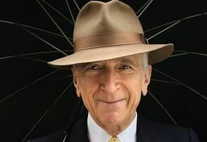 O jornalista Gay Talese: aos 83 anos, ele continua sendo referência em estilo Foto: Carolyn Cole / Carolyn Cole/Los Angeles Times/Contour by Getty Images