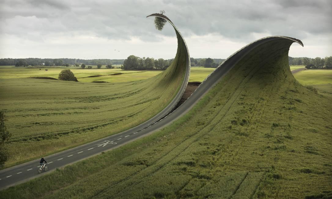 """Cut & Fold"", de 2012 Erik Johansson"