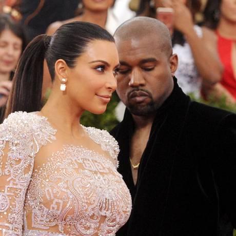 Kim Kardashian e Kanye West no Met Gala 2015 Foto: Charles Sykes / Charles Sykes/Invision/AP