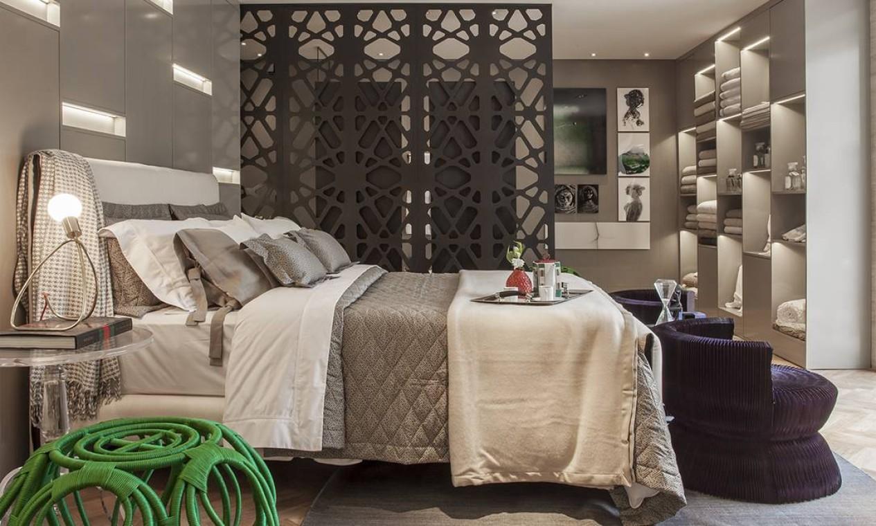 Mayara Clá e Natasha Haddad, da MN Arquitetura e Interiores, foram as criadoras do Atelier do Enxoval, que preza pela integração dos ambientes no espaço de 38 m² Foto: Divulgação