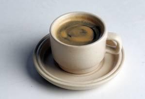 Duas xícaras de café: a medida para um bom sexo Foto: Fábio Seixo / Agência O Globo