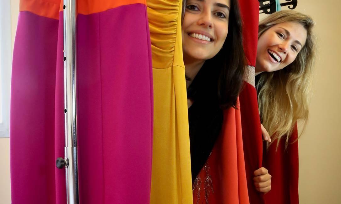 604a1fd26 Mariana Penazzo e Bárbara Almeida, sócias da Dress & Go: 2,5 mil