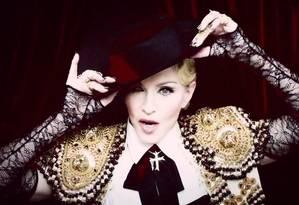 Madonna: uma das adeptas do Snapchat Foto: Divulgação