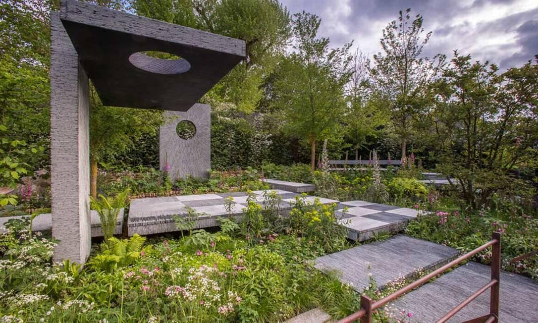 Patrocinado pelo grupo Brewin Dolphin, este jardim foi mais um agraciado com uma medalha de ouro na categoria 'show' Divulgação / Royal Horticultural Society