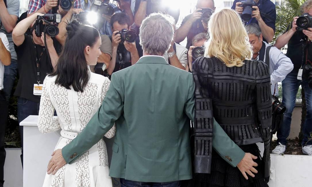 """Num momento """"Dona Flor"""", o director Todd Haynes 'atacou' as atrizes Foto: REGIS DUVIGNAU / REUTERS"""