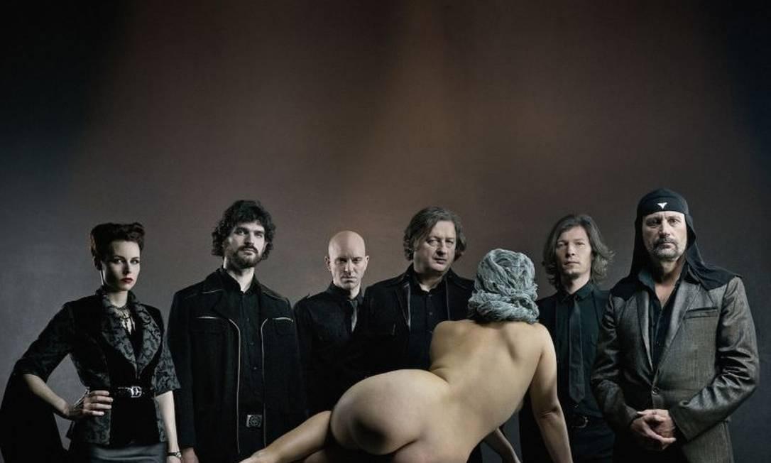 Foto da banda Laibach feita para o álbum Spectre, lançado em 2014 Foto: Divulgação