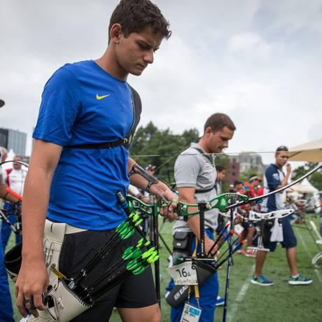 Marcus D'Almeida não usou desculpas para sua derrota no Pan Foto: Jonne Roriz/Exemplus/COB / Jonne Roriz/Exemplus/COB