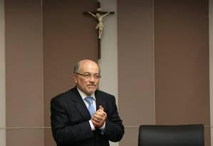 Ministro do TCU Aroldo Cedraz: Foto: Agência O Globo / Ailton de Freitas/21-01-2015