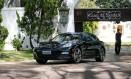 O Porsche apreendido na residência de Collor Foto: Folhapress/14-7-2015 / Pedro Ladeira