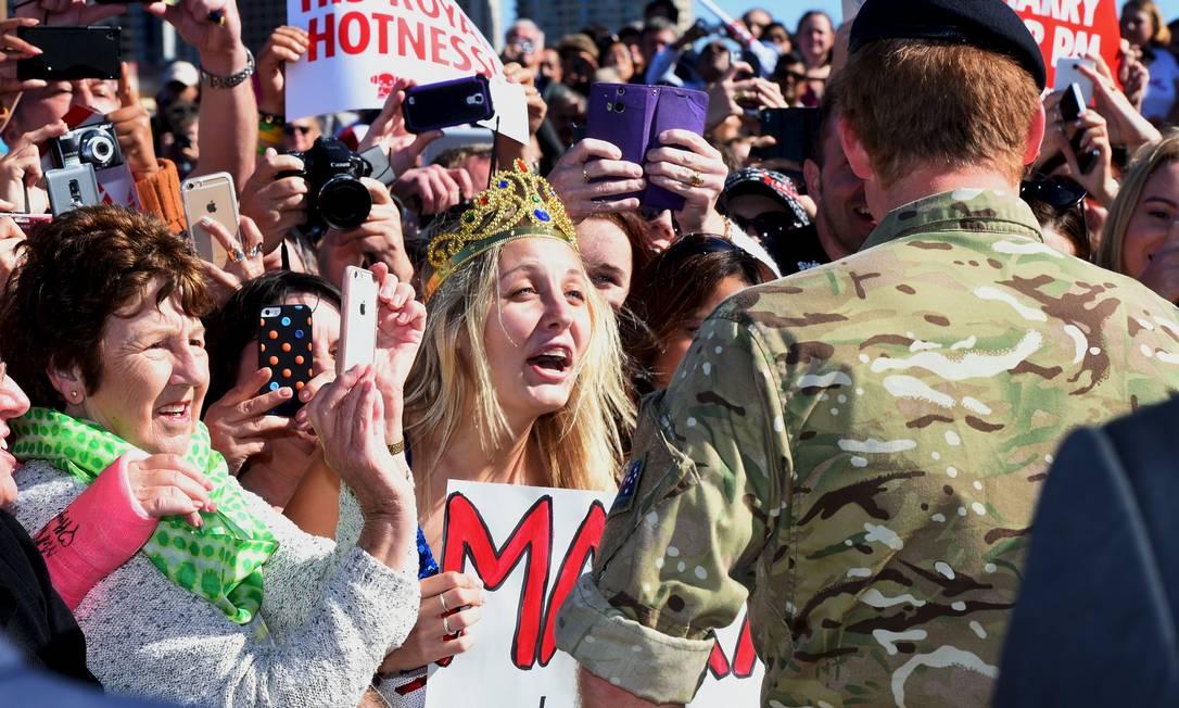 Victoria McRae: frente a frente com Harry POOL / REUTERS