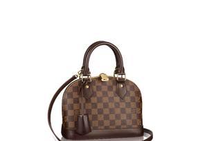 Bolsa Vuitton com a clássica padronagem Foto: Divulgação