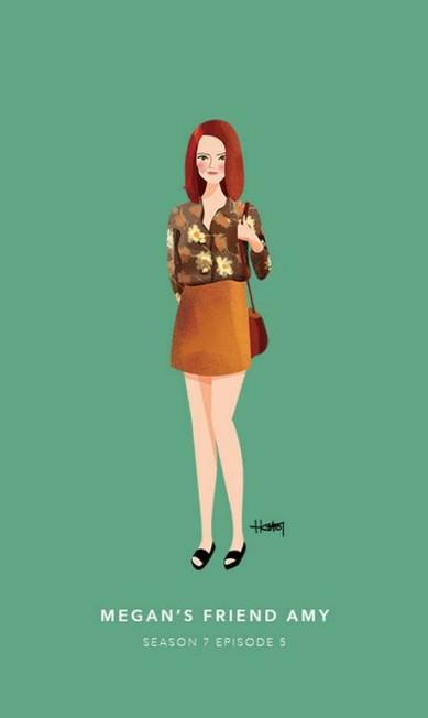 Amy, a amiga da Megan. Episódio 5 da sétima temporada Hannah Choi
