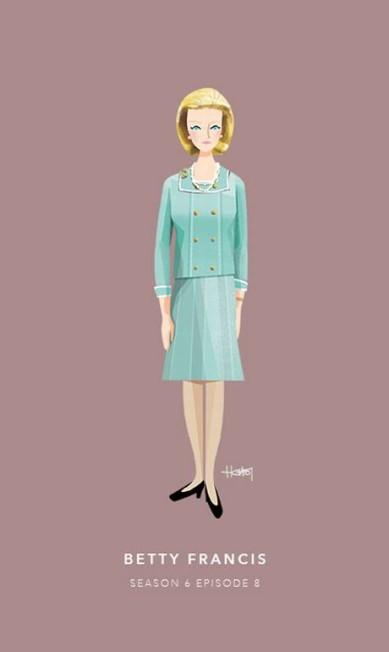Betty Francis, episódio 8 da sexta temporada Hannah Choi