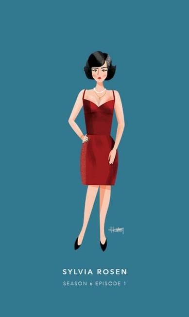 Sylvia Rosen, episódio 1 da sexta temporada Hannah Choi