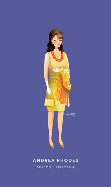 Andrea Rhodes, episódio 4 da quinta temporada Hannah Choi