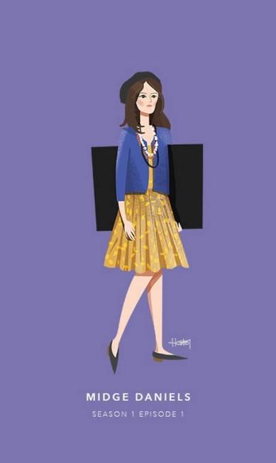Midge Daniels, episódio 1 da primeira temporada Hannah Choi