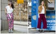 Nica Kessler e Alexia Wenk apostam em duas maneiras diferentes de usar a pantalona cropped Foto: Ana Branco / Agência O Globo