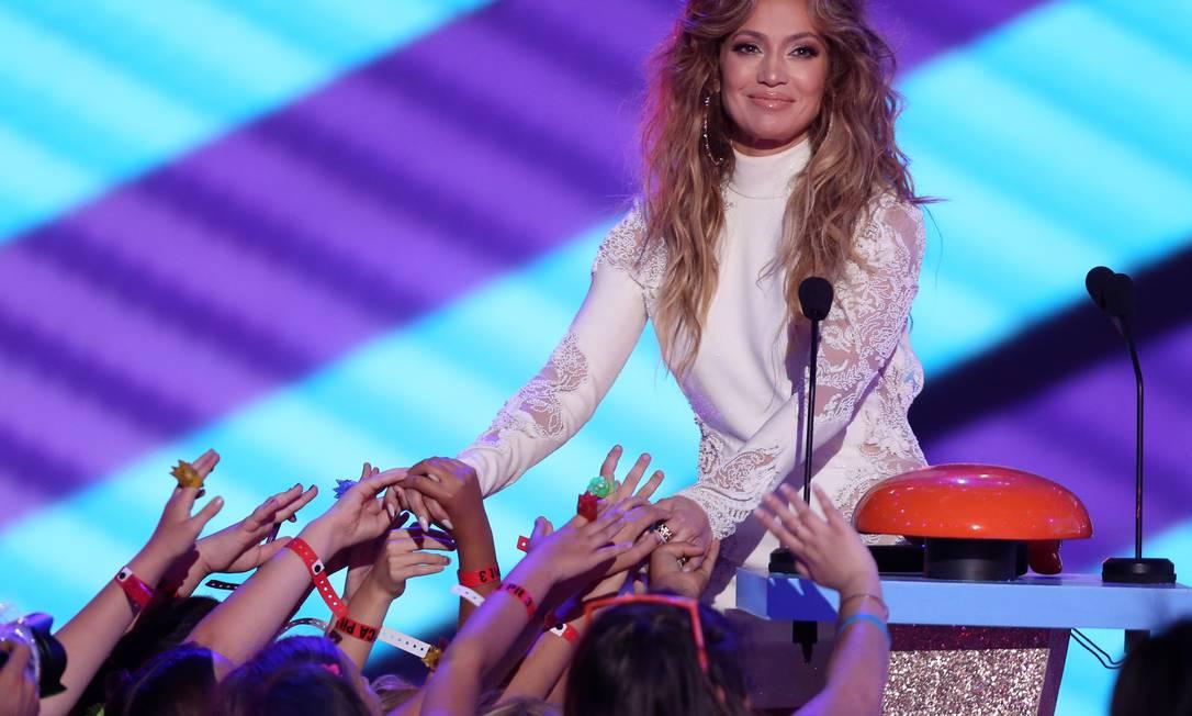 Os cabelos ultravolumosos da cantora e atriz chamaram a atenção Matt Sayles / Matt Sayles/Invision/AP
