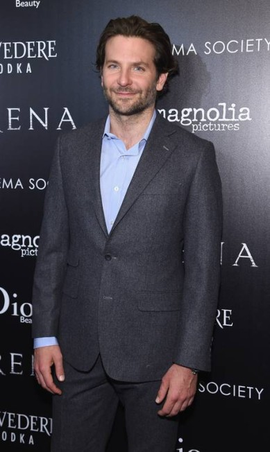 De acordo com a imprensa internacional, Bradley Cooper e a top britânica Suki Waterhousese terminaram o namoro após cerca de dois anos juntos Jamie McCarthy / AFP