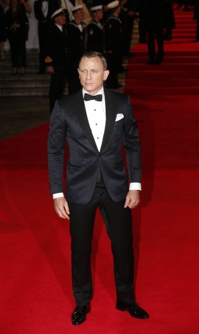 """Bond, James Bond, ou melhor, Daniel Craig dispensou dublê para as cenas de risco de """"007 - Quantum of Solace"""", a um custo de R$ 5 milhões em seguros SUZANNE PLUNKETT / REUTERS/Suzanne Plunkett"""