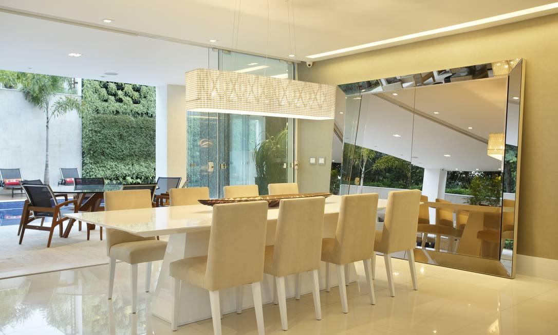 se em projetos de iluminação para a sala de jantar  Jornal O Globo