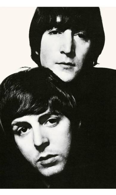 John Lennon e Paul McCartney, em 1965 David Bailey