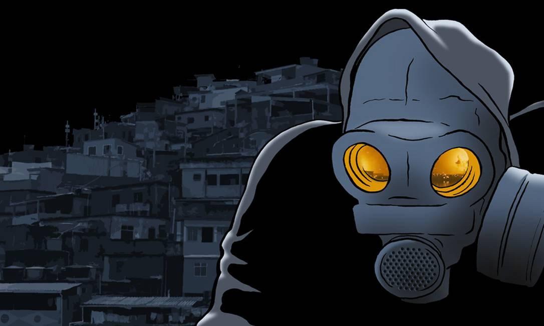 O personagem foi criado em 2008, mas ficou engavetado durante cinco anos Foto: Reprodução