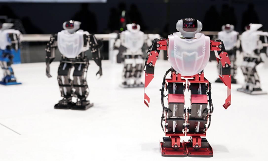 O Robo Life Museum traz vários tipos de robôs em miniatura para os amantes de tecnologia se divertirem Reprodução