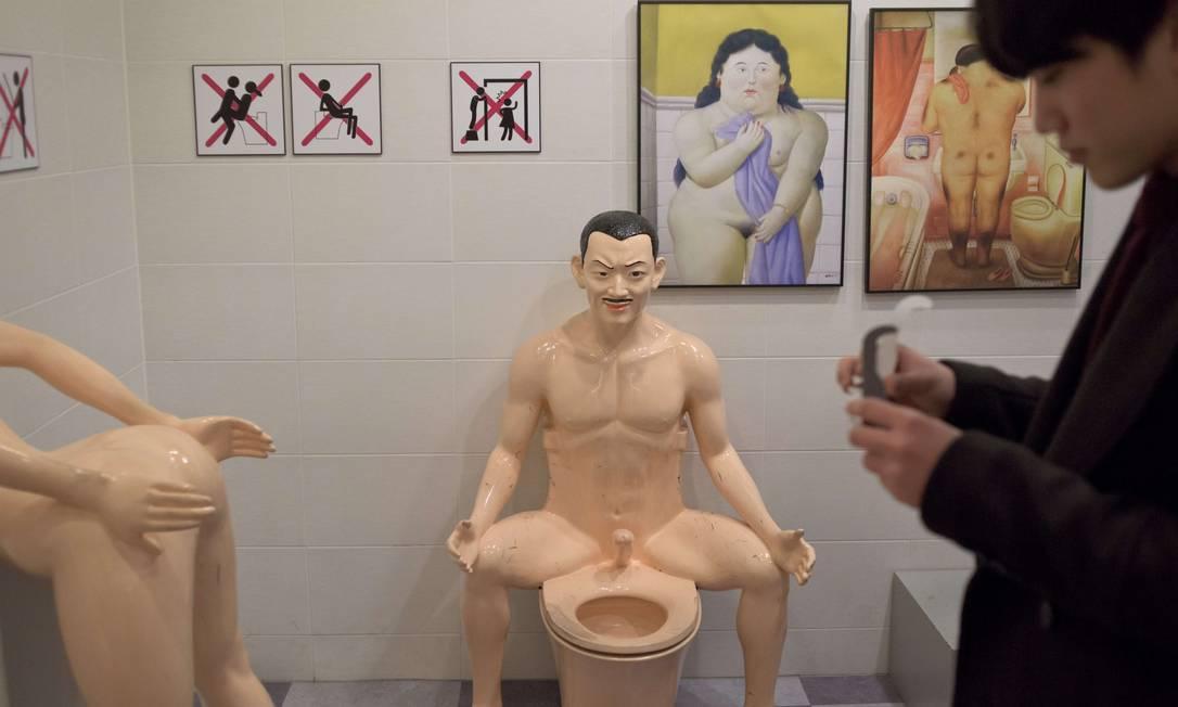O museu agora deve ter ainda mais visitantes, visto que foi derrubada nesta quinta-feira uma lei que vigorava há 60 anos e criminalizava o adultério ED JONES / AFP