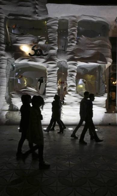 O design inovador tem atraído muitos turistas e moradores da cidade Vahid Salemi / AP