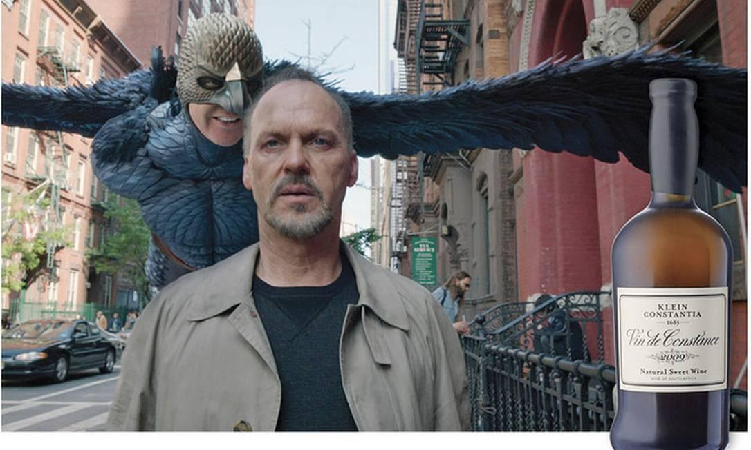 """Para combinar com """"Birdman"""", filme sobre uma estrela de Hollywood que se apaga, Lyon sugere o sul-africando Klein Constantia Vin de Constance Reprodução"""