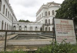 Sede da UFRJ na Praia Vermelha. Cursos de comunicação e economia são ministrados no prédio Foto: ANTONIO SCORZA / Agência O Globo