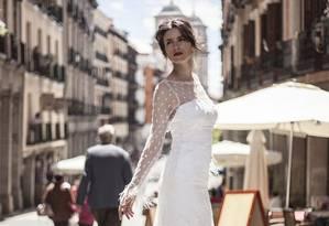 Cinco tendências para noivas em 2015 Foto: Divulgação