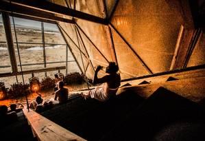 Agora, a maior sauna do mundo, na Noruega Foto: Reprodução / Salt.com