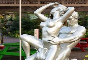 Um parque temático sexual está sendo construído em Taiwan nos moldes do Jeju Loveland (foto), da Coreia do Sul Foto: Reprodução Facebook