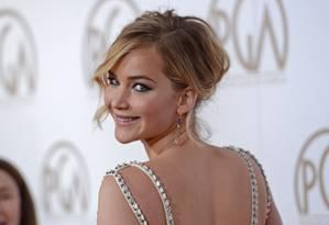 A beleza de Jennifer Lawrence Foto: PHIL McCARTEN / REUTERS