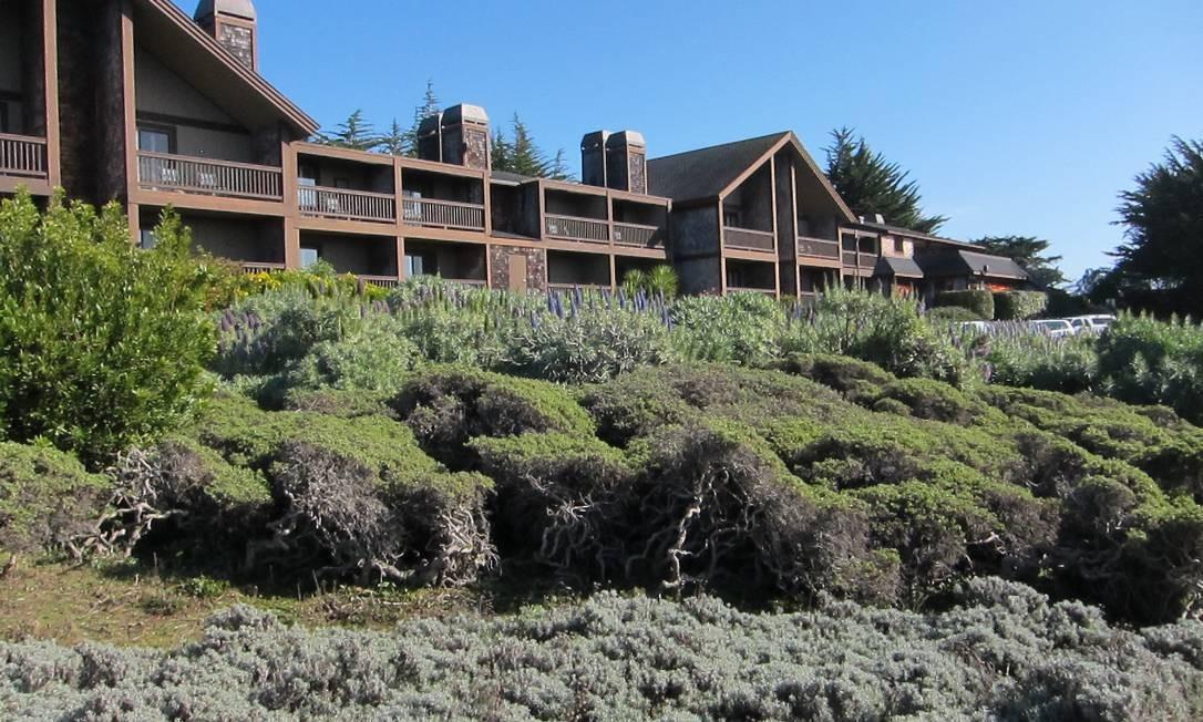 Colina acima de uma laguna do Parque Doran, com vista para o oceano, o Bodega Bay Lodge Resort é chique sem ser esnobe Foto: Divulgação / Divulgação
