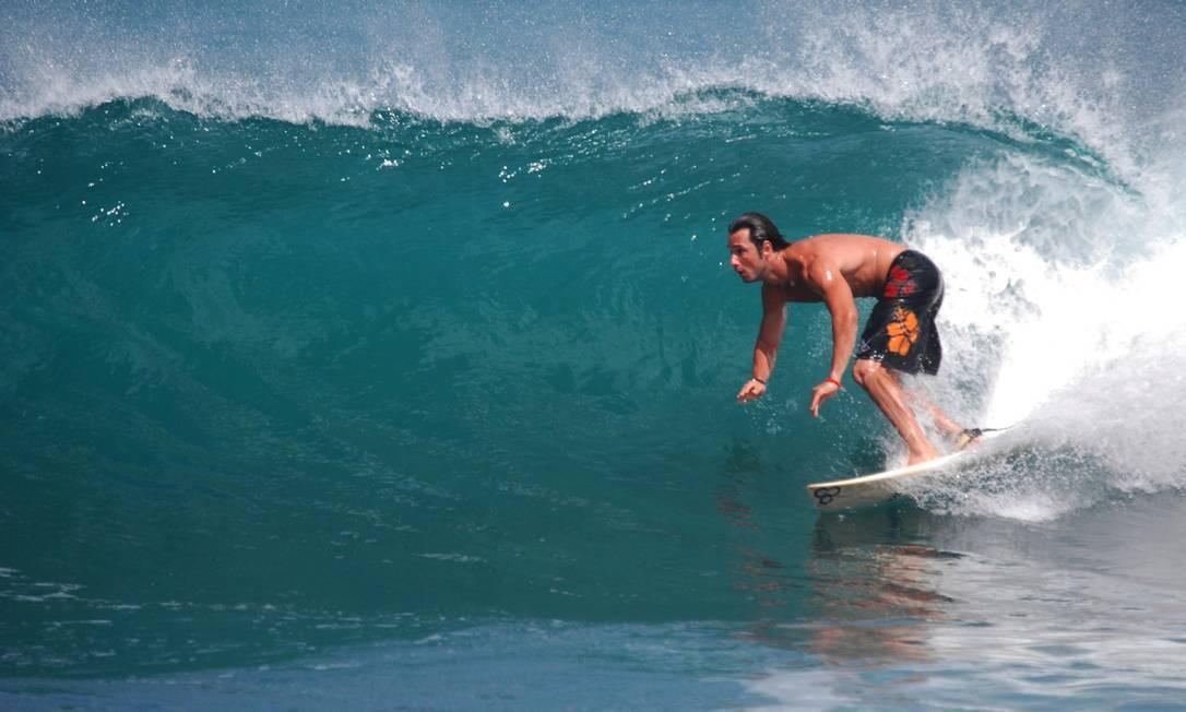 Surfe em Fernando de Noronha Foto: Acervo pessoal
